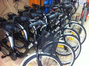 Bicicletes de lloguer elèctriques